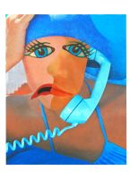 The Blue Telephone by Graemejukes