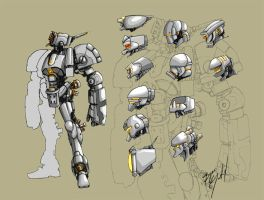 Mech-head round-up by junon