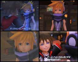 Neku Sakuraba in KH by Calling-All-Angelz