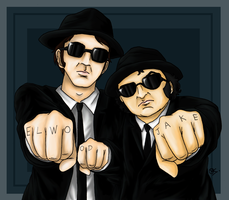 Brothers in Black by fellow-traveller