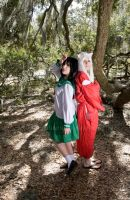 Inuyasha + Kagome2 by Nightmare-Lust