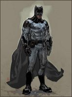 Batman redesign by ChristianNauck