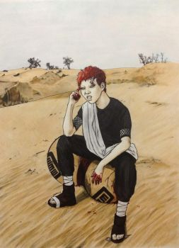 Sabaku no Gaara by Deadspeak5