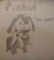 Poshul Sketch by Ffphreek