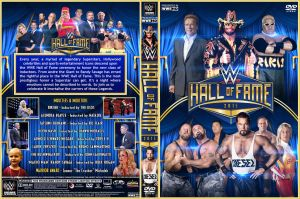 WWE Hall of Fame 2015 DVD Cover by Chirantha