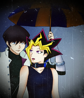 Under My Umbrella by OnaxeAralian
