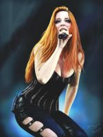 Simone Simons by Frozzzzt