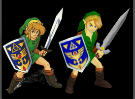 Link a Link to the Past N64 mod by Lopieloo