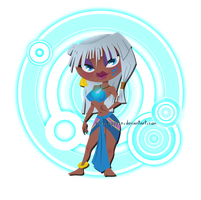 Princess Kida Chibi by Nippy13