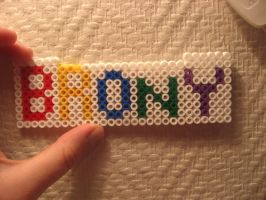 Brony bead-sign by mirry92