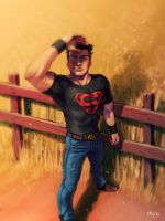 SuperBoy by Cris-Art