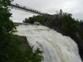 Montmorency Falls by FrozenFlights