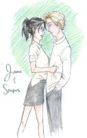 Jamie and Scorpius by burdge