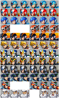 Mugshots MegaMan x Battle in Time (preview) by kensuyjin33