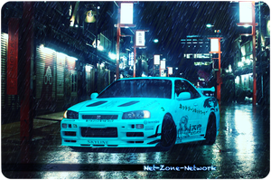 Nissan Skyline Gtr 34 spec v Koto Japan by Net-Zone-Network