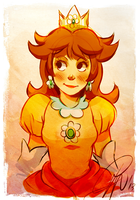 Princess Daisy by LillayFran
