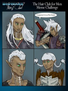 Hair Club for Men Meme Fenris by AbsoluteApril