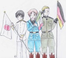 Hetalia: Axis Powers by a-panda-beah