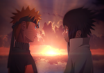 Naruto and Sasuke by afran67 by afran67