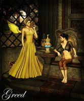 Angels Of Sin - Greed by Afina79