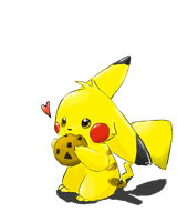 Cookie Pikachu by Scorched-FoxFire