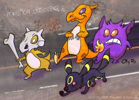 Pokemon Crossing by Oly-RRR