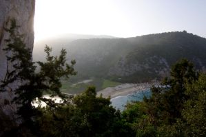 cala luna seen from the eagle's nest by tanja1983