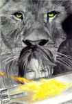 Maybe I'm A Lion by Love-ROKKUGO