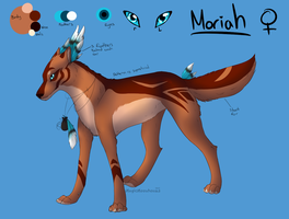Moriah ref. sheet by MagicMoonbeams