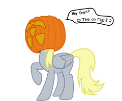 Derpy Pumpkin (Artist training Grounds W2) by Skyline98