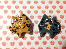 Cookie Cat Charms by LadySashaviv