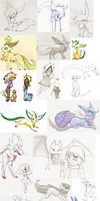thats a lot of art o-o by BlackMew13