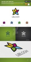 Ubloom Logo Template by design-on-arrival