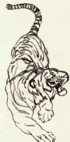 Tiger Tattoo by supersmeg123