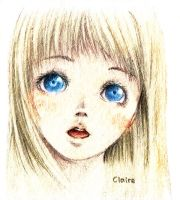 Claire sketch by Incross