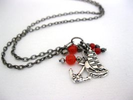 Pirate necklace by faranway