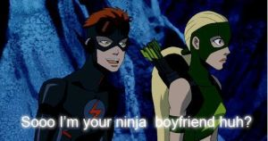 Ninja Boyfriend by notanotherbestfriend