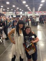 Me and Kelly Hu by Tmntcomicconluv1995