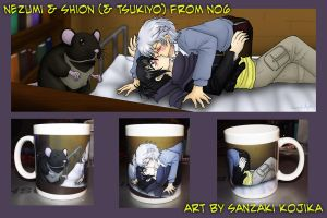 No6 Mug by kojika