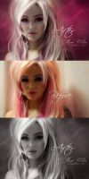 Before and after Glamorous by Marazul45