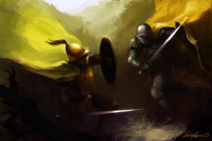 Thicket Duel by RufusTykeman