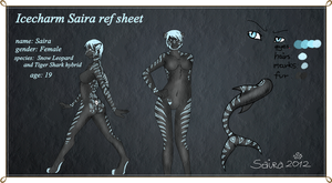 Icecharm Saira Ref sheet by Only-Doll