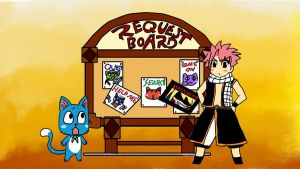 Fairy Tail_-_Requestboard by AkatsukiFan505