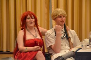 AN2014 - Black Butler Yaoi Panel - Grell + Bardroy by Midnight-Dance-Angel
