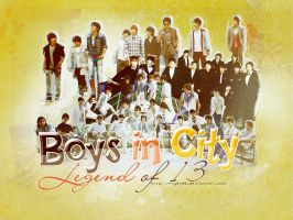 Boys In City by ROY6199