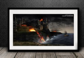 Apocalypse - Dystopia Matte Painting by russanov