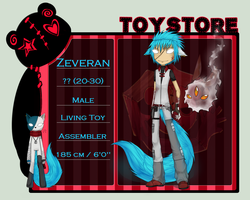 ToyStore Application ~ Zeveran by iNeyraei