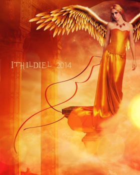 Upon Wings of Gold by Ithildiel