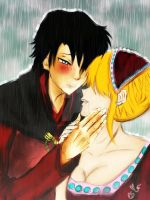 Confession in the rain (Sword of the Guardian) by InLoveWithYaoi