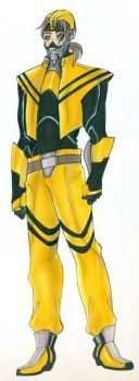 Transformers Prime: Humanoids--Bumblebee by mangakallector